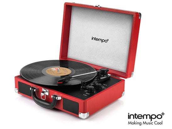 Intempo retro turntable competition