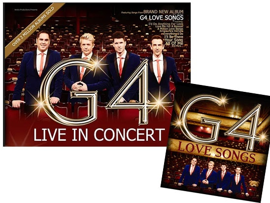 VIP tickets to see G4 live in concert sweepstakes