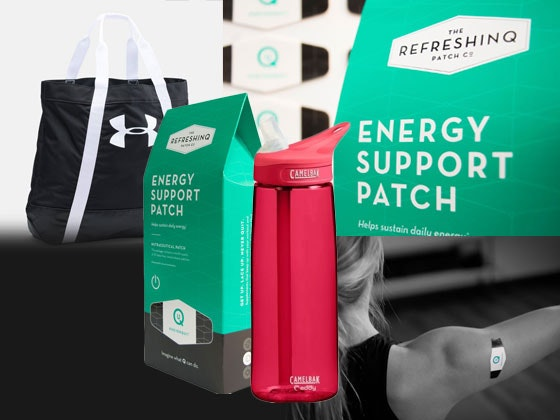 30-Day RefreshinQ Energy Support Patch  sweepstakes