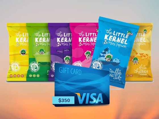 Little Kernel Popcorn & Visa Gift Card sweepstakes