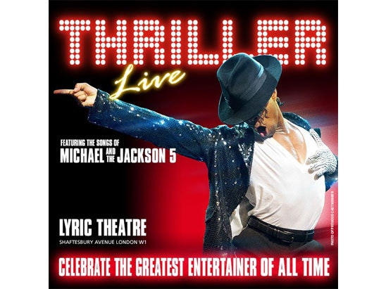 Thriller Live musical courtesy of Amazon Tickets  sweepstakes