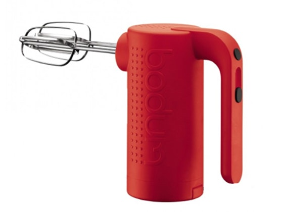 Bodum Bistro Hand Mixer - Red (Subs) sweepstakes