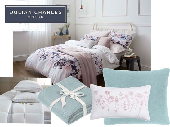 Win Julian Charles collection of bed linen sweepstakes