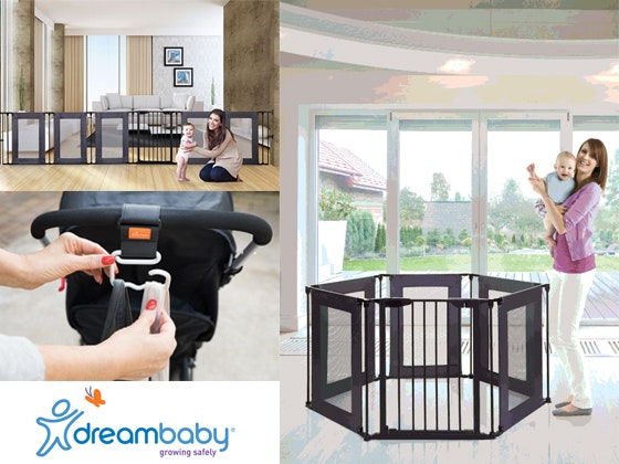 Dreambaby® Safety Pack including the new Brooklyn Converta® Play-Pen Gate  sweepstakes