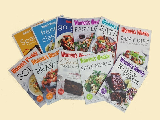 AWW Mini Cookbook Pack sweepstakes