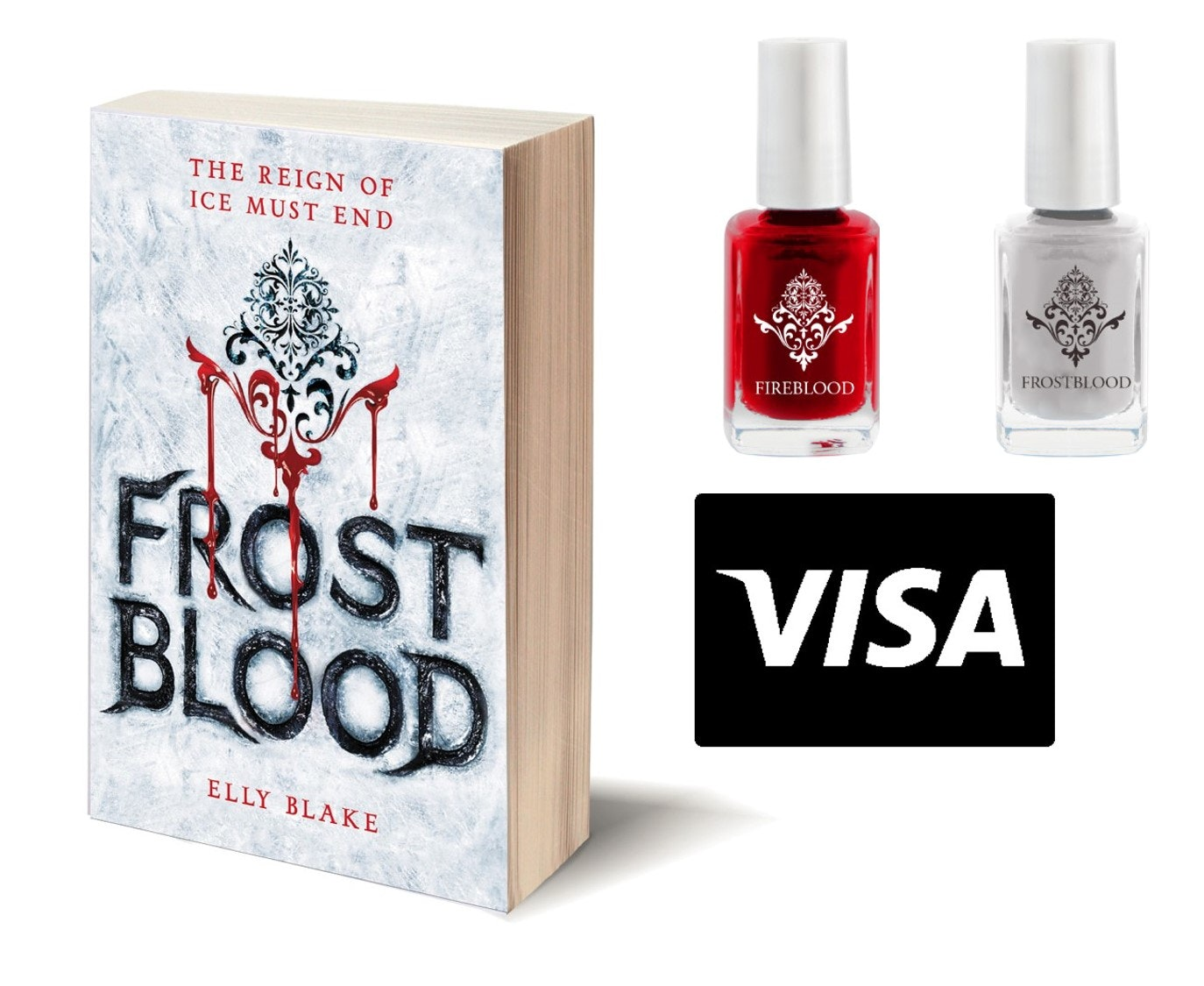 """""""Frostblood"""" Prize Pack a $50 Visa Gift Card sweepstakes"""