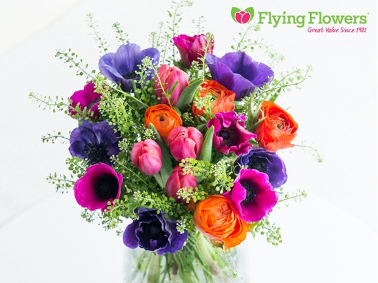 a year of bouquets from Flying Flowers sweepstakes