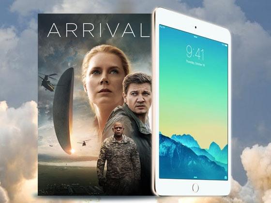 Arrival on Digital HD and an iPad mini 2 sweepstakes