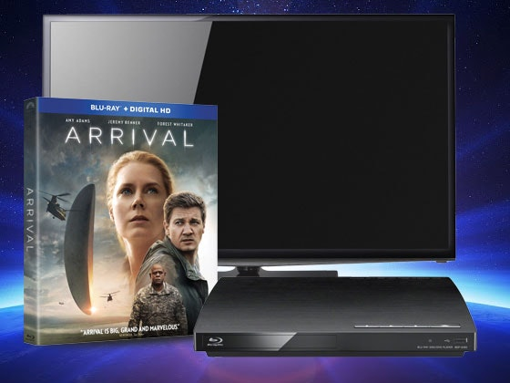 Arrival TV Blu-ray Giveaway sweepstakes