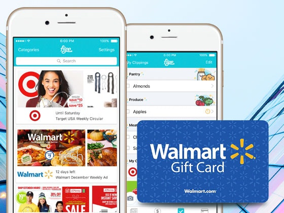 $500 Walmart Gift Card from Flipp sweepstakes