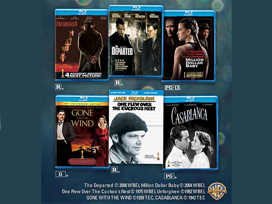 Oscars Movie Pack  sweepstakes