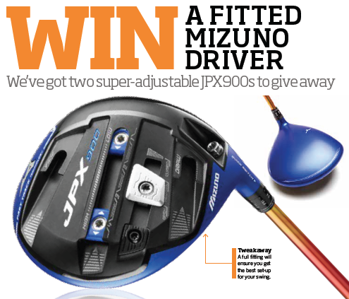 WIN a fitted Mizuno JPX900 Driver sweepstakes