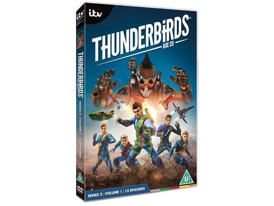 Thunderbirds Are Go Series 2 Volume 1 sweepstakes