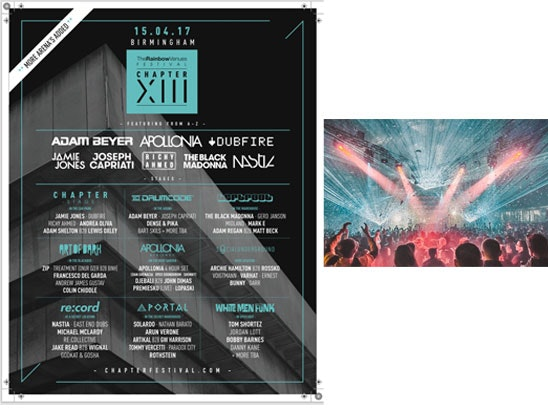 VIP tickets to the Chapter XIII Festival  sweepstakes