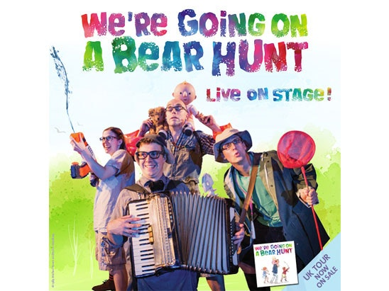 We're Going on a Bear Hunt live on stage sweepstakes