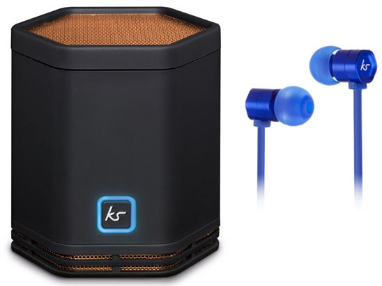 Kitsound pocket hive speaker earphones competition