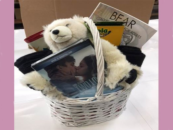 Two Lovers and A Bear Basket sweepstakes