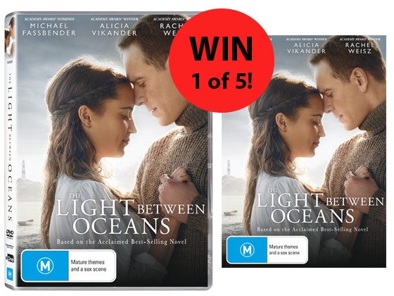 The Light Between Oceans DVD sweepstakes