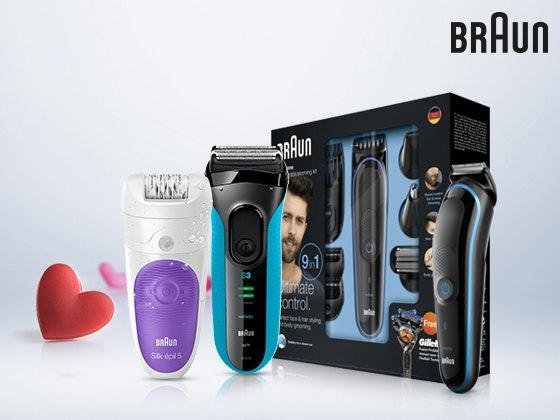 Braun Beauty-Paket gewinnen Gewinnspiel