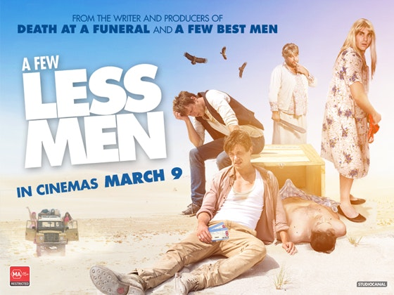 A Few Less Men Double Movie Tickets sweepstakes