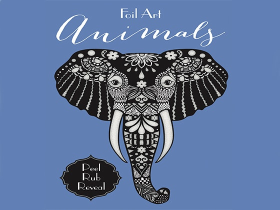 Foil Art: Animals Book by little bee books sweepstakes