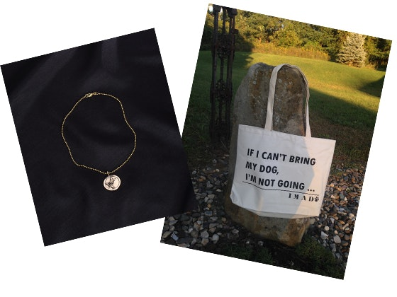 IMAD Tote Bag and Necklace sweepstakes