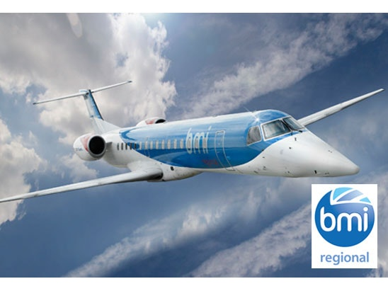 a pair of bmi regional return flights sweepstakes