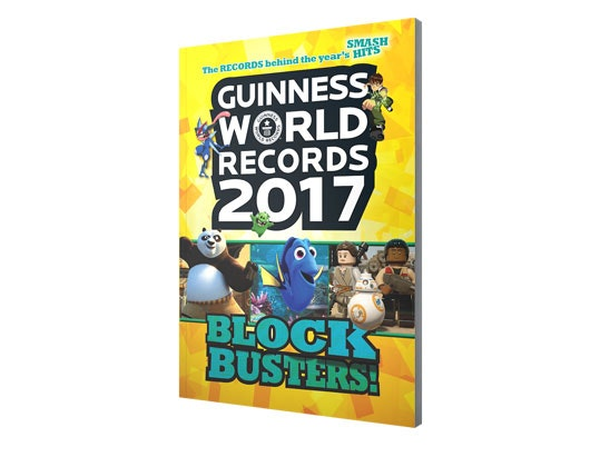 Guinness World Records, Blockbusters! 2017 sweepstakes