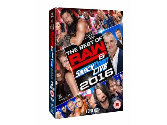 WWE - The Best of Raw and SmackDown sweepstakes