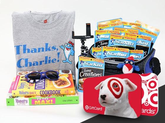 $25 Target Gift Card & StarKist Snacks sweepstakes