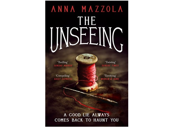 The Unseeing by Anna Mazzola sweepstakes