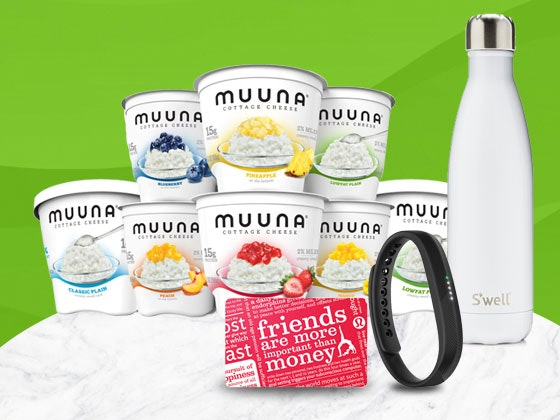 Muuna Prize Pack and FitBit sweepstakes