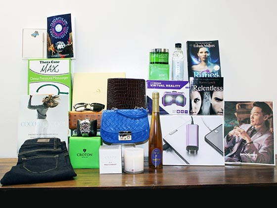 Writers guild awards giftbag giveaway 1
