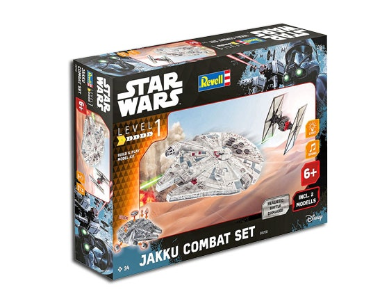 STAR WARS JAKKU COMBAT SET! sweepstakes