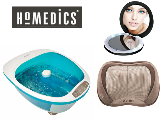 HoMedics Indulgence Prize Pack sweepstakes