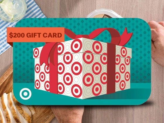 $200 Target Gift Card sweepstakes