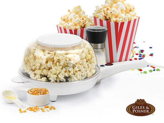 Giles & Posner Popcorn Maker! sweepstakes