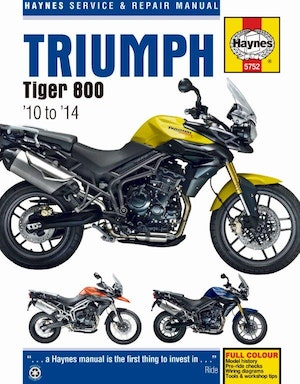 Triumph tiger 800 hr little