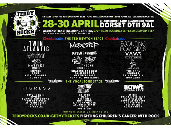 Teddy Rocks Festival  sweepstakes