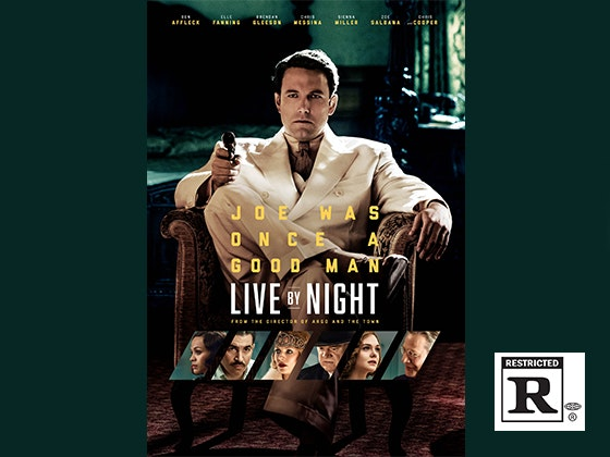 Live By Night Digital HD sweepstakes