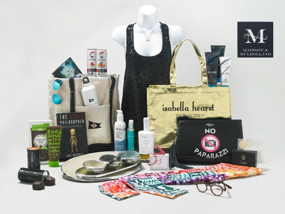 2017 Madison and Mulholland Awards Season Gift Bag sweepstakes