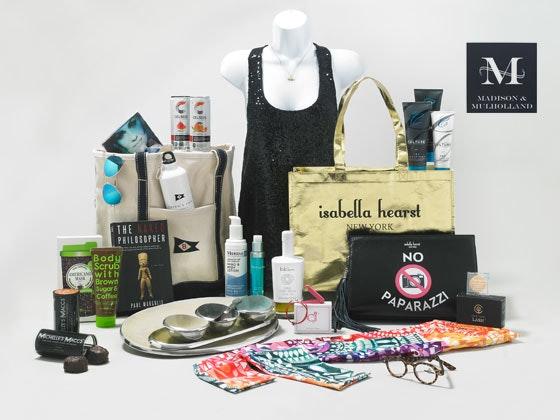 2017 Madison and Mulholland Awards Season Gift Bag sweepstakes