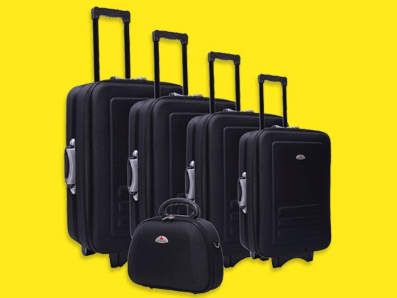 Delegate 5 Piece Luggage Set sweepstakes