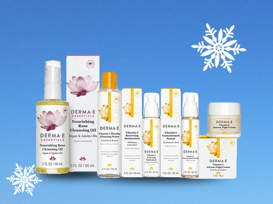 DERMA E Skincare Collection sweepstakes