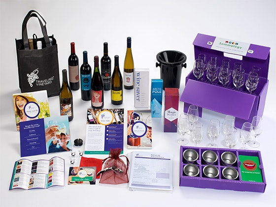 Wine Guide Success Kit from Traveling Vineyard sweepstakes