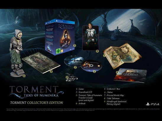 Torment: Tides of Numenera sweepstakes