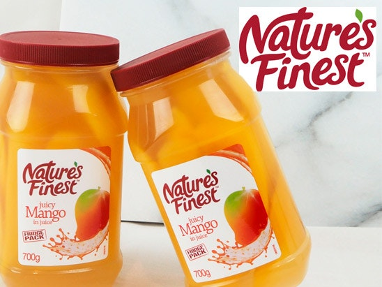Natures Finest Mango Slices sweepstakes