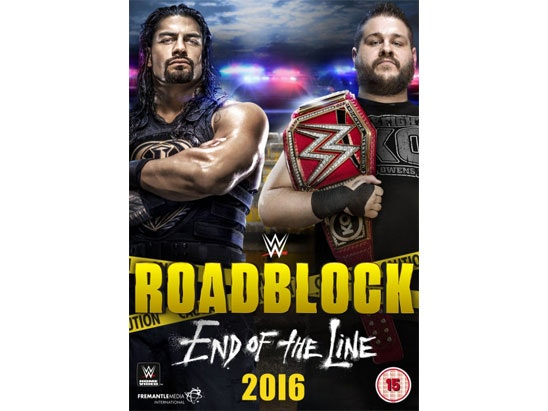 WWE Roadblock: End of the Line 2016 sweepstakes
