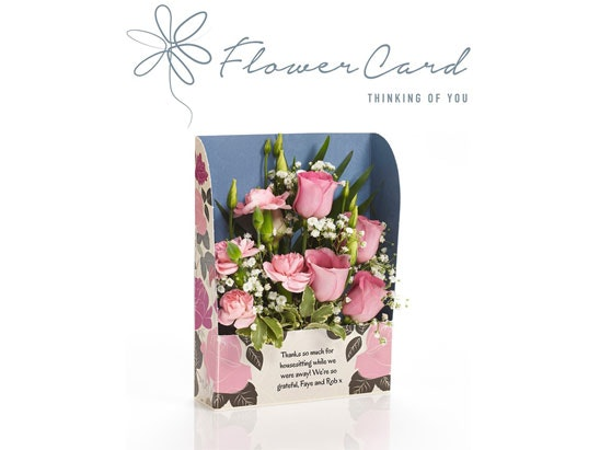 Flower card sweepstakes