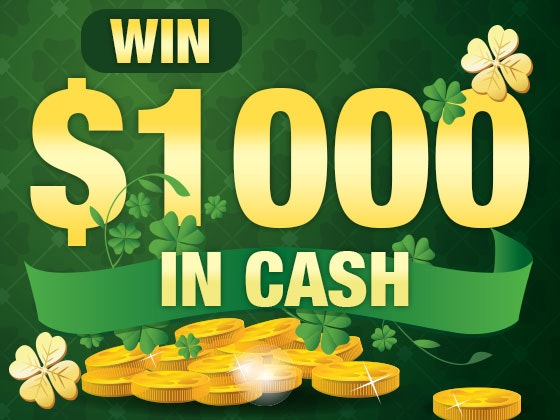 $1000 Cash March 2017 sweepstakes